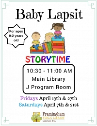 Drop-in Baby Lapsit at Main Library thumbnail Photo