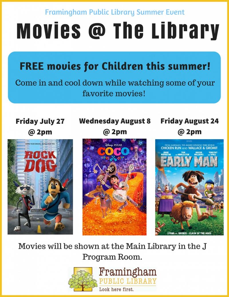 Events Calendar   Framingham Public Library