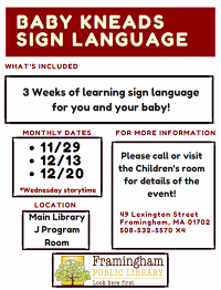 Baby Sign Language Story Time thumbnail Photo