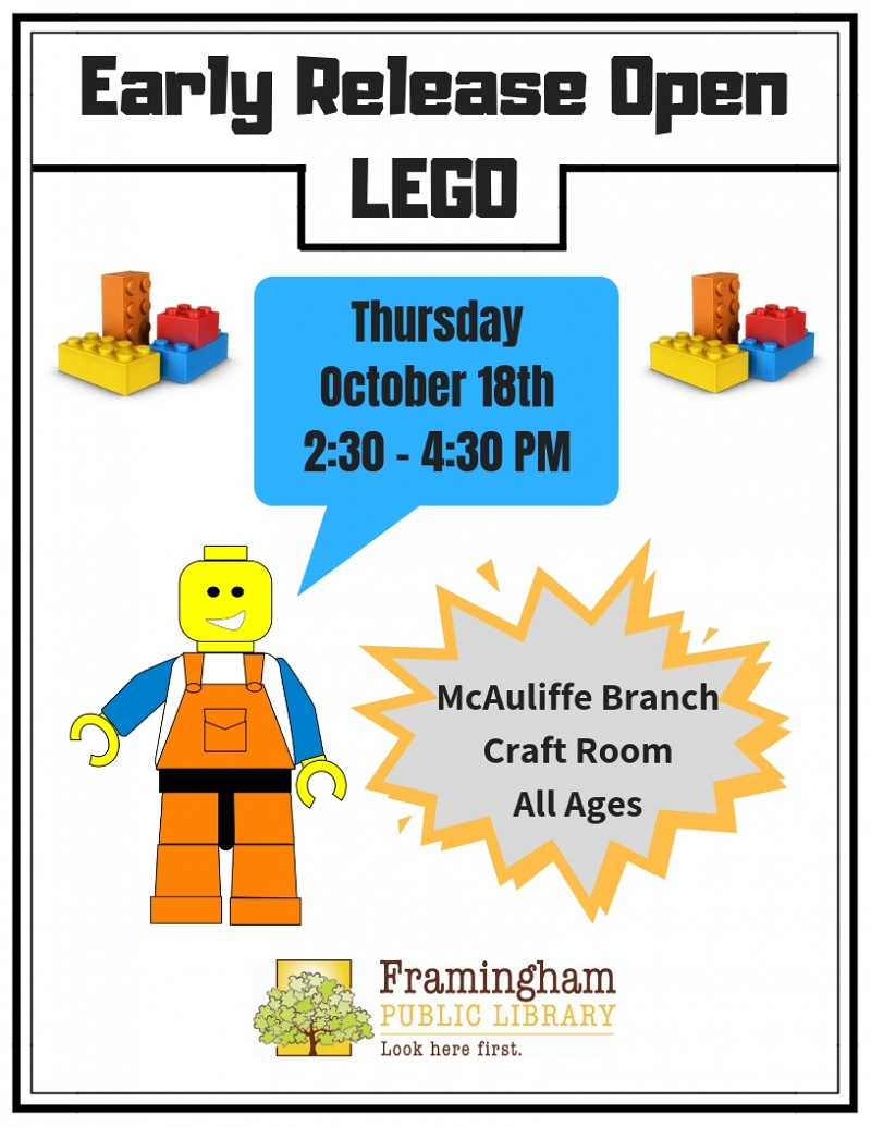 Early Release Lego Building at McAuliffe thumbnail Photo