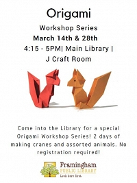 Origami Workshop Series thumbnail Photo