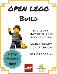 Early Release Open Lego thumbnail Photo
