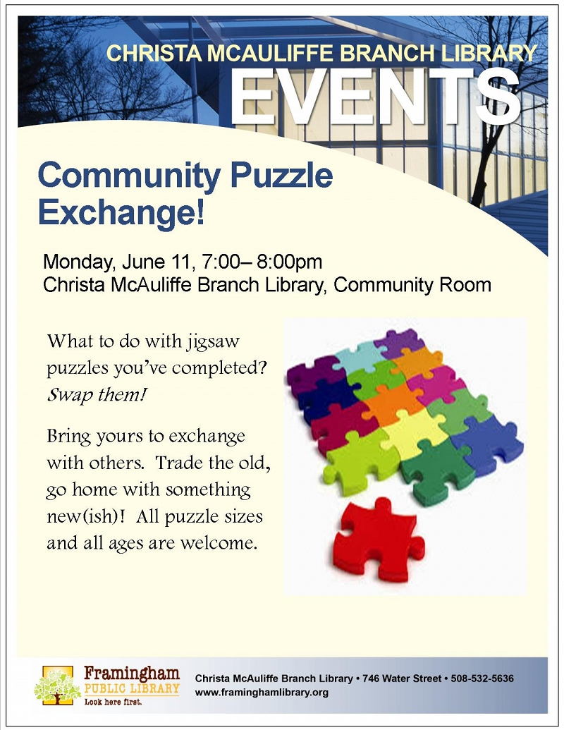 Community Puzzle Swap thumbnail Photo