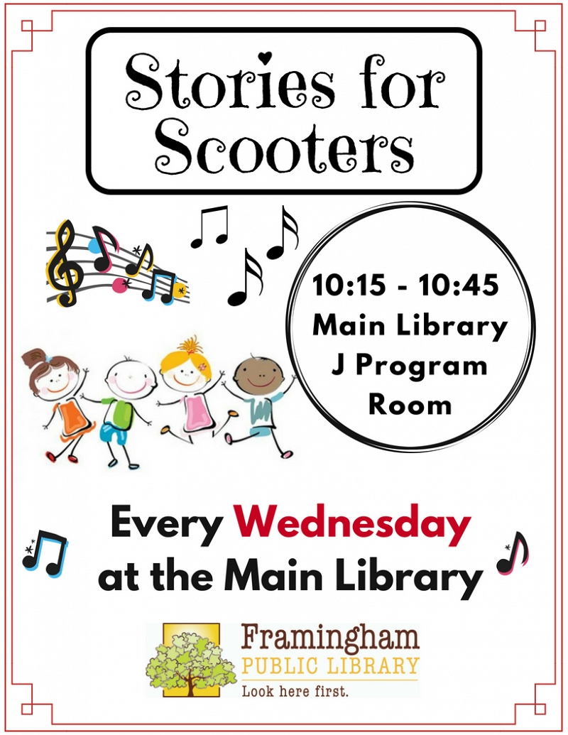 Stories for Scooters at Main Library thumbnail Photo
