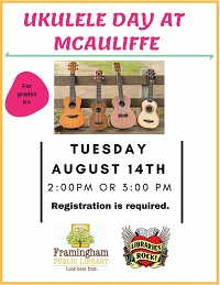 Ukulele Day at McAuliffe thumbnail Photo
