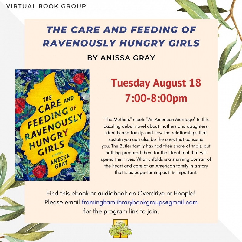 Book Discussion: The Care and Feeding of Ravenously Hungry Girls thumbnail Photo