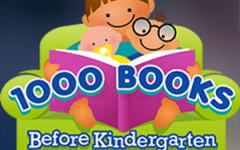 Foster a Love of Reading with 1,000 Books Before Kindergarten! graphic