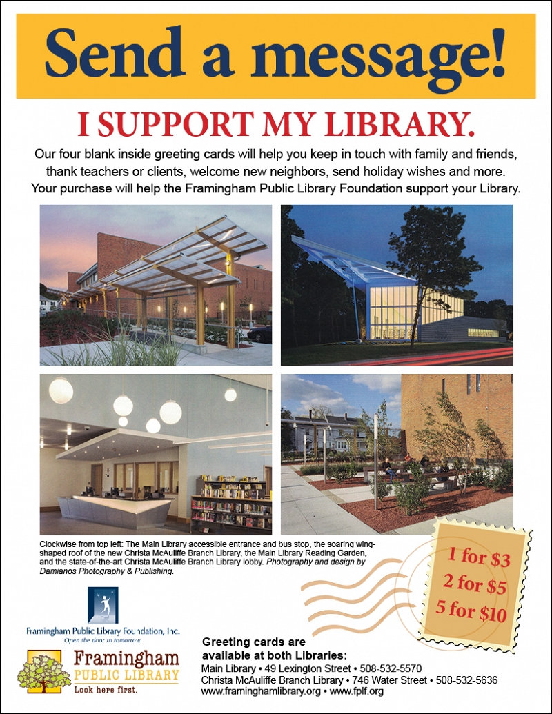 Send a message! I support my library. thumbnail Photo