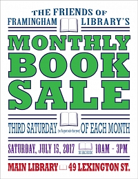 Friends of the Framingham Library Special Book Sale thumbnail Photo