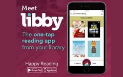 Meet Libby, the new eBooks app from Overdrive! graphic