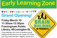 Early Learning Zone: Grand Opening! thumbnail Photo
