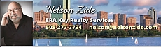 Graphic with photo of Nelson Zide and ERA Realty contact info