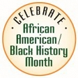 February is African American/Black History Month graphic