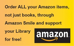 To make a contribution, go to smile.amazon.com or download the Amazon Smile app, and select Framingham Public Library Foundation as your charity. Amazon will contribute a percentage of the cost of many of your purchases to the FPLF. graphic