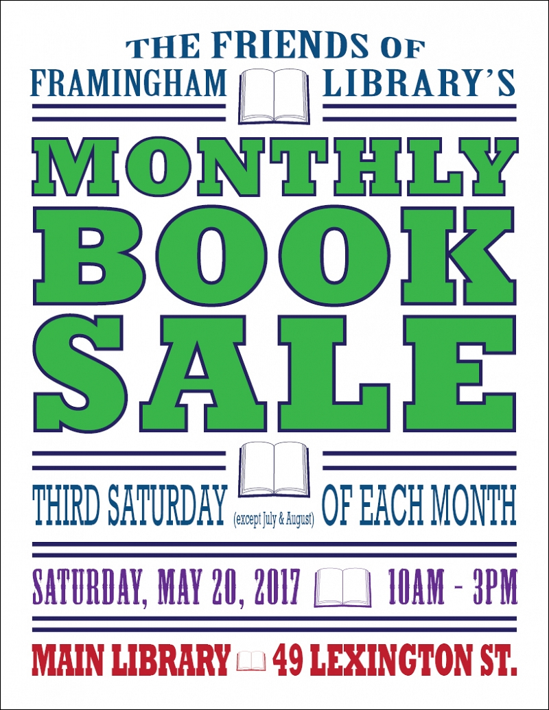 Friends of the Framingham Library Book Sale thumbnail Photo
