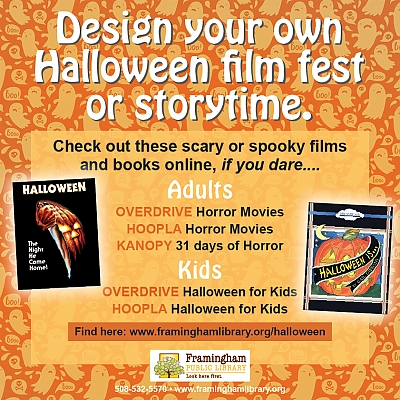 Design your own Halloween Film Fest or Storytime