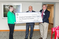 Friends receive donation from Chestnut Hill Realty! thumbnail Photo