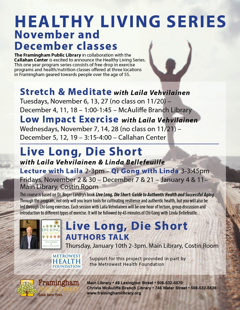 Healthy Living Series: Stretch and Meditate thumbnail Photo