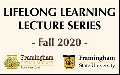 Lifelong Learning Lecture Series begins September 10! graphic