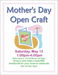 Mother's Day Open Craft thumbnail Photo