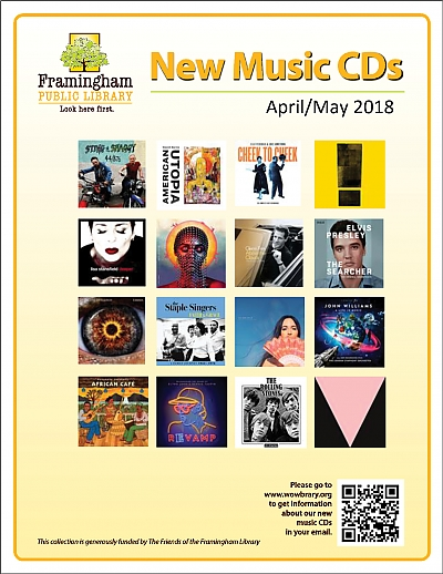 New Music CDs April and May 2018 poster