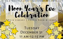Join us for an extraordinary balloon drop and cookie decorating! graphic