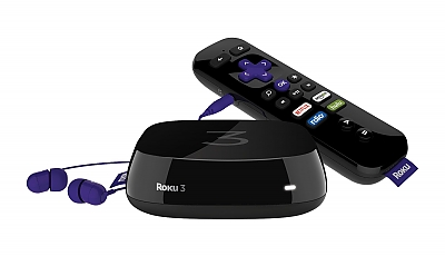 Use the Roku banner