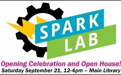 Join us as we open our all-ages makerspace! graphic