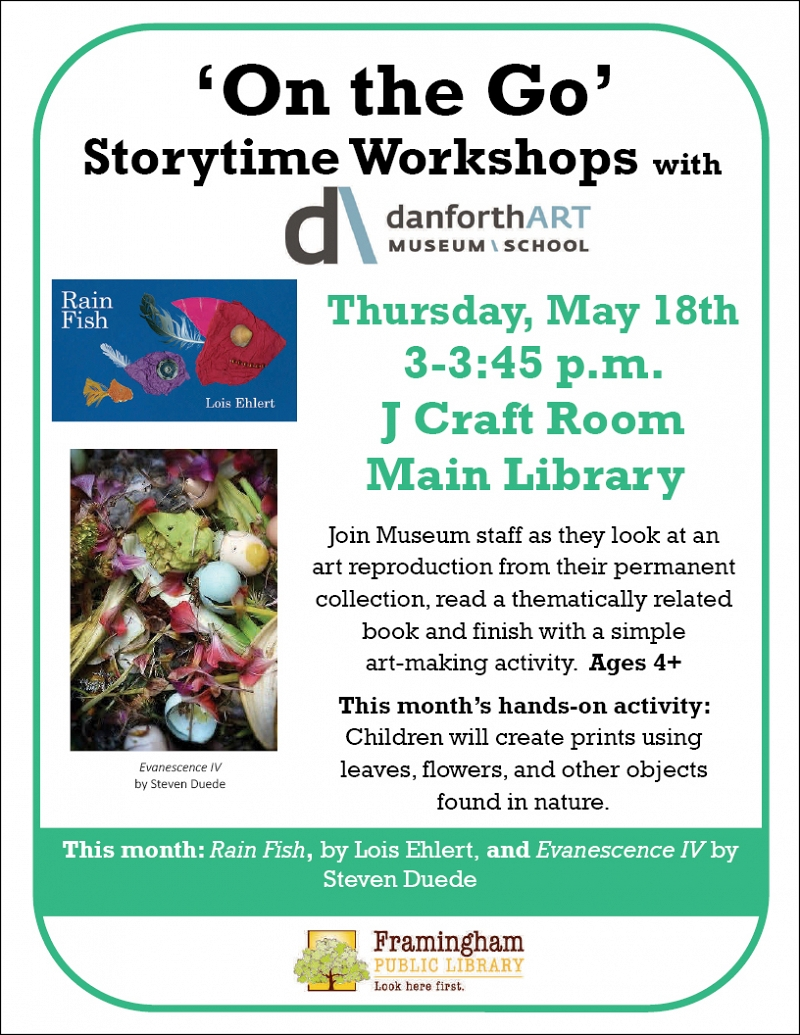 On the Go Storytime Workshops with the Danforth Art Museum thumbnail Photo