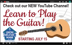 Tune in for lessons posted weekly on our YouTube Channel, July 15-August 19. graphic