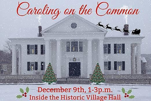 Caroling on the Common poster