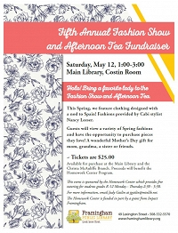 Fifth Annual Fashion Show and Afternoon Tea Fundraiser For The Homework Center thumbnail Photo
