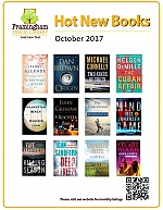 Poster of Covers of Books coming out in October