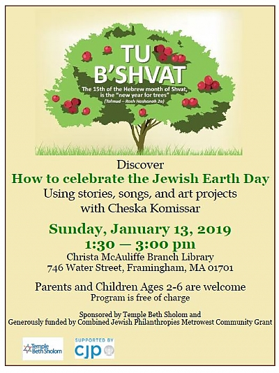 Tu B'Shvat: How to Celebrate the Jewish Earth Day