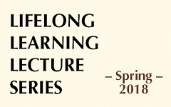 Lifelong Learning Lecture Series begins Thursday, February 22! graphic