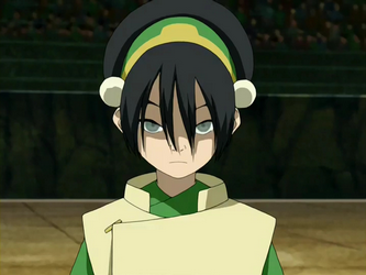 A photo of a young girl named Toph.