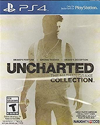 Uncharted - The Nathan Drake Collection box art.