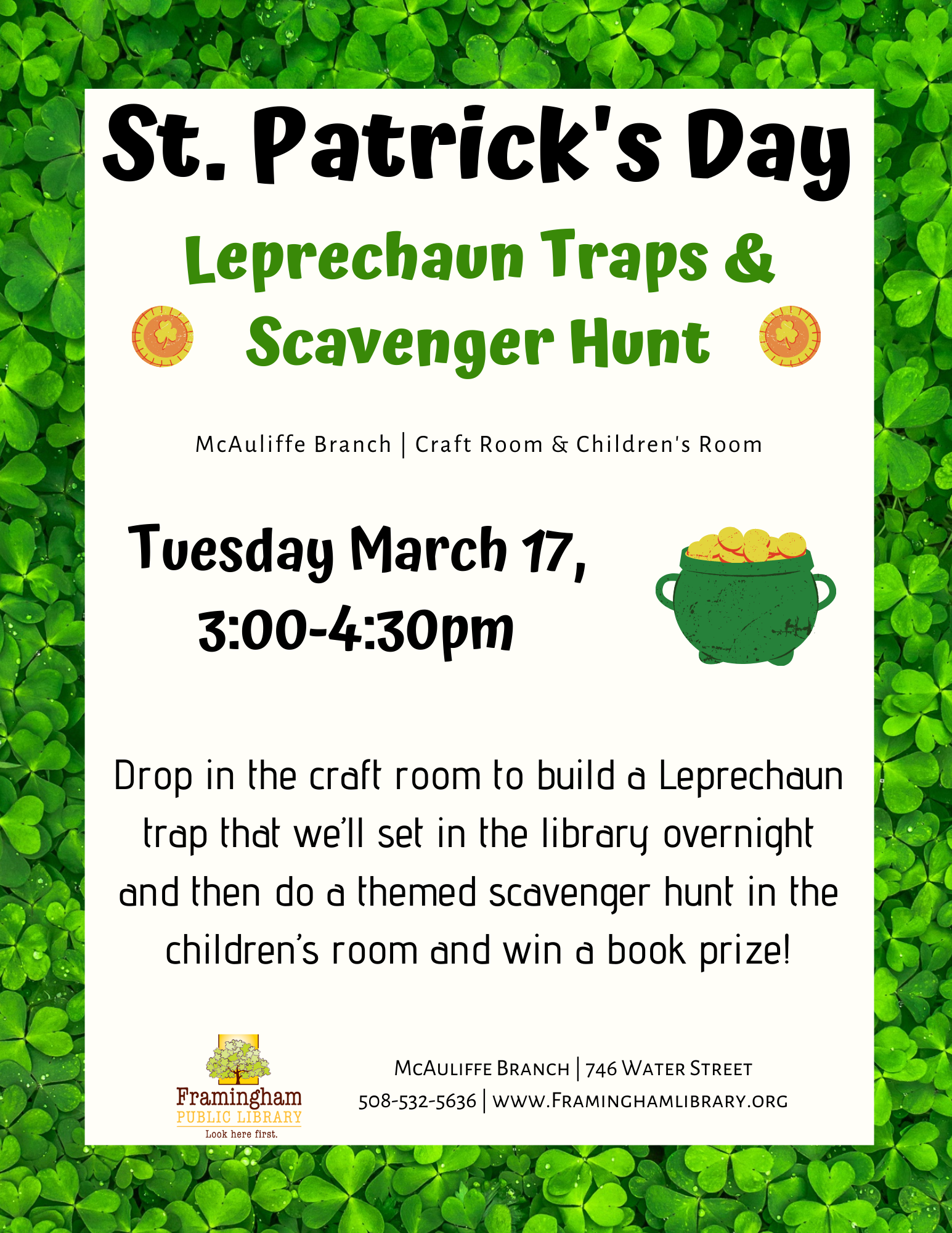 St. Patrick's Day Leprechaun Traps and Crafts thumbnail Photo