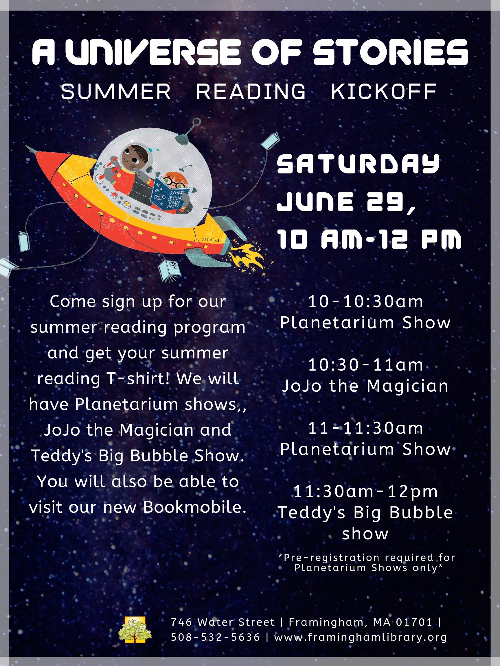 Events Calendar | Framingham Public Library
