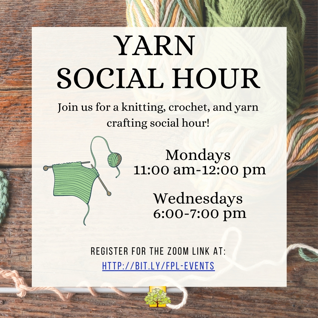 Yarn Social Hour: Virtual Hangout thumbnail Photo