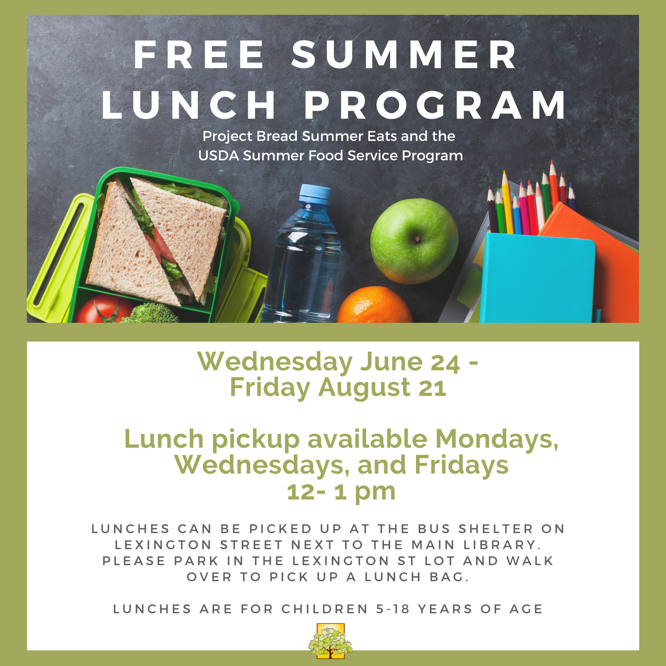 FREE Summer Lunch Program thumbnail Photo
