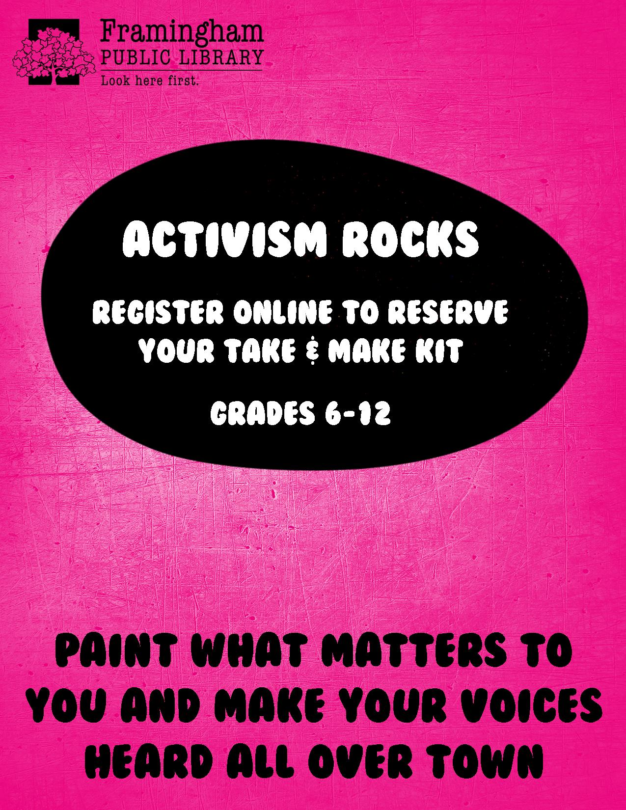 Activism Rocks thumbnail Photo