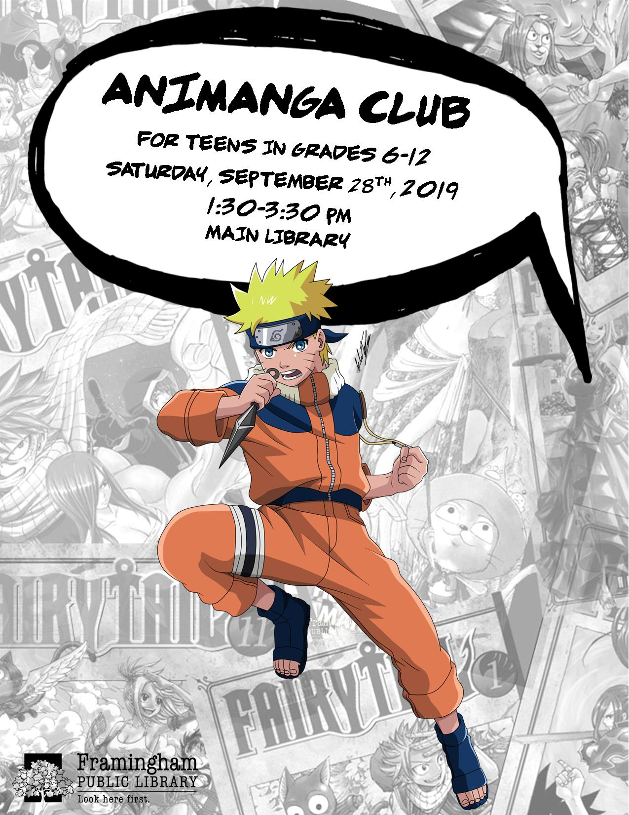 AniManga Club September thumbnail Photo