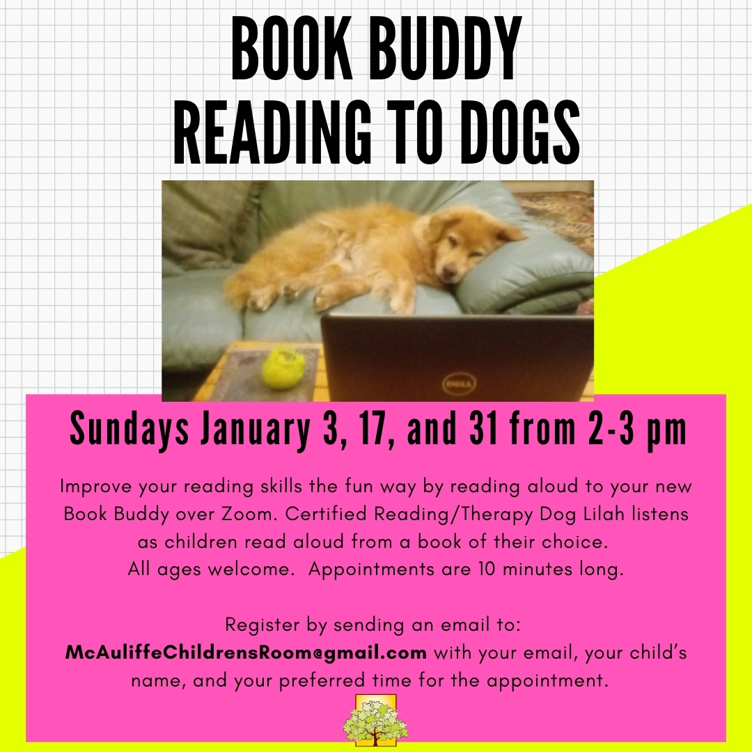 Book Buddies: Reading to Dogs thumbnail Photo