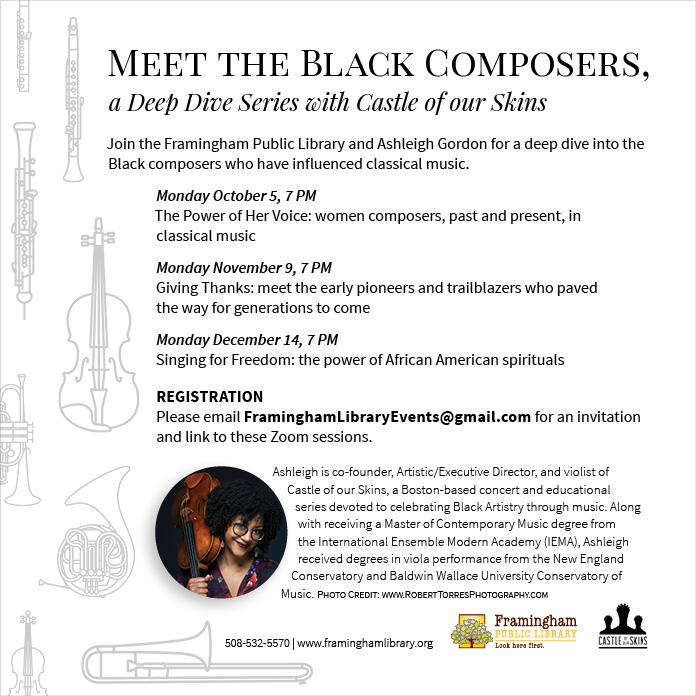 Meet the Black Composers: Singing for Freedom: The Power of African American Spirituals thumbnail Photo