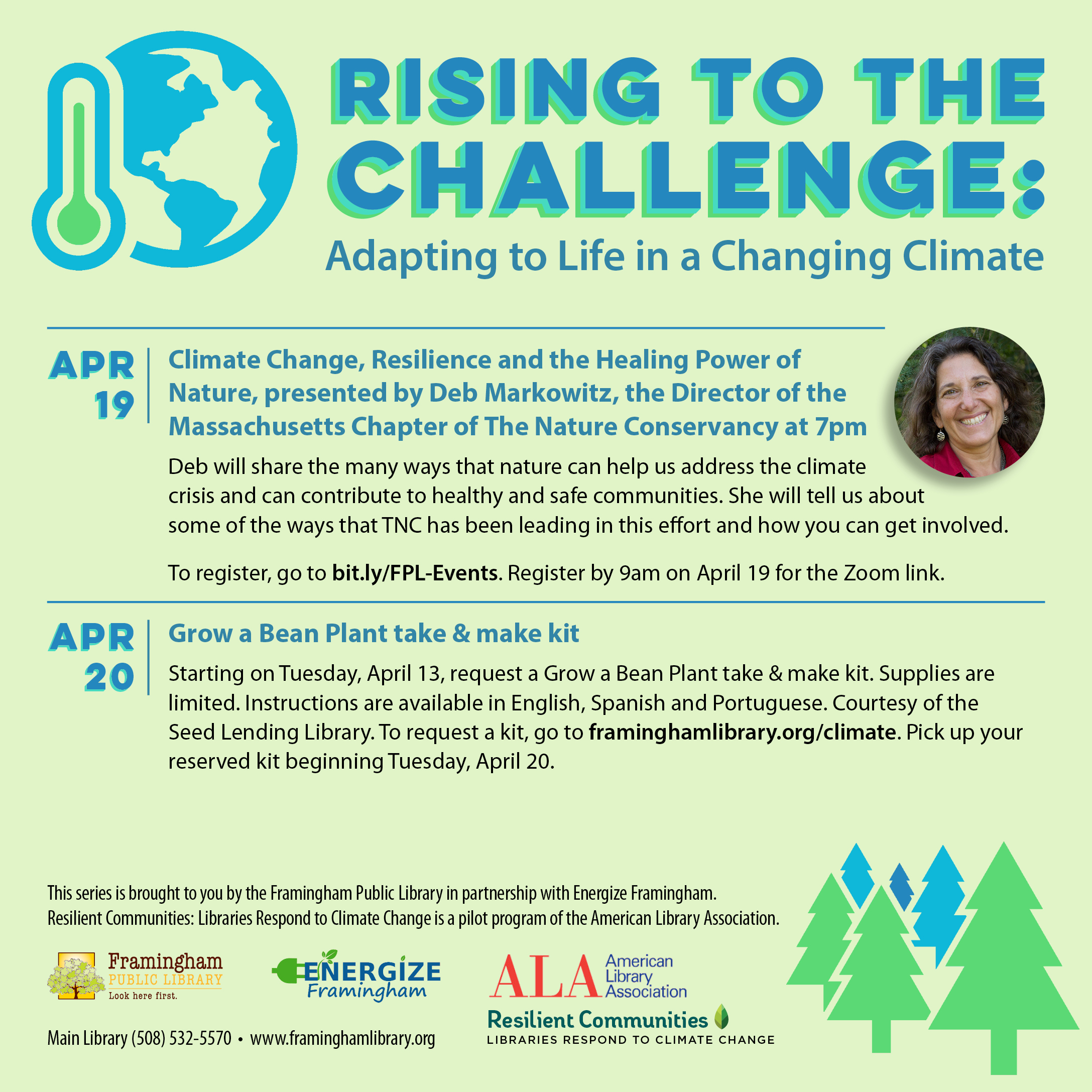Changing Climate Series: Resilience and the Healing Power of Nature thumbnail Photo
