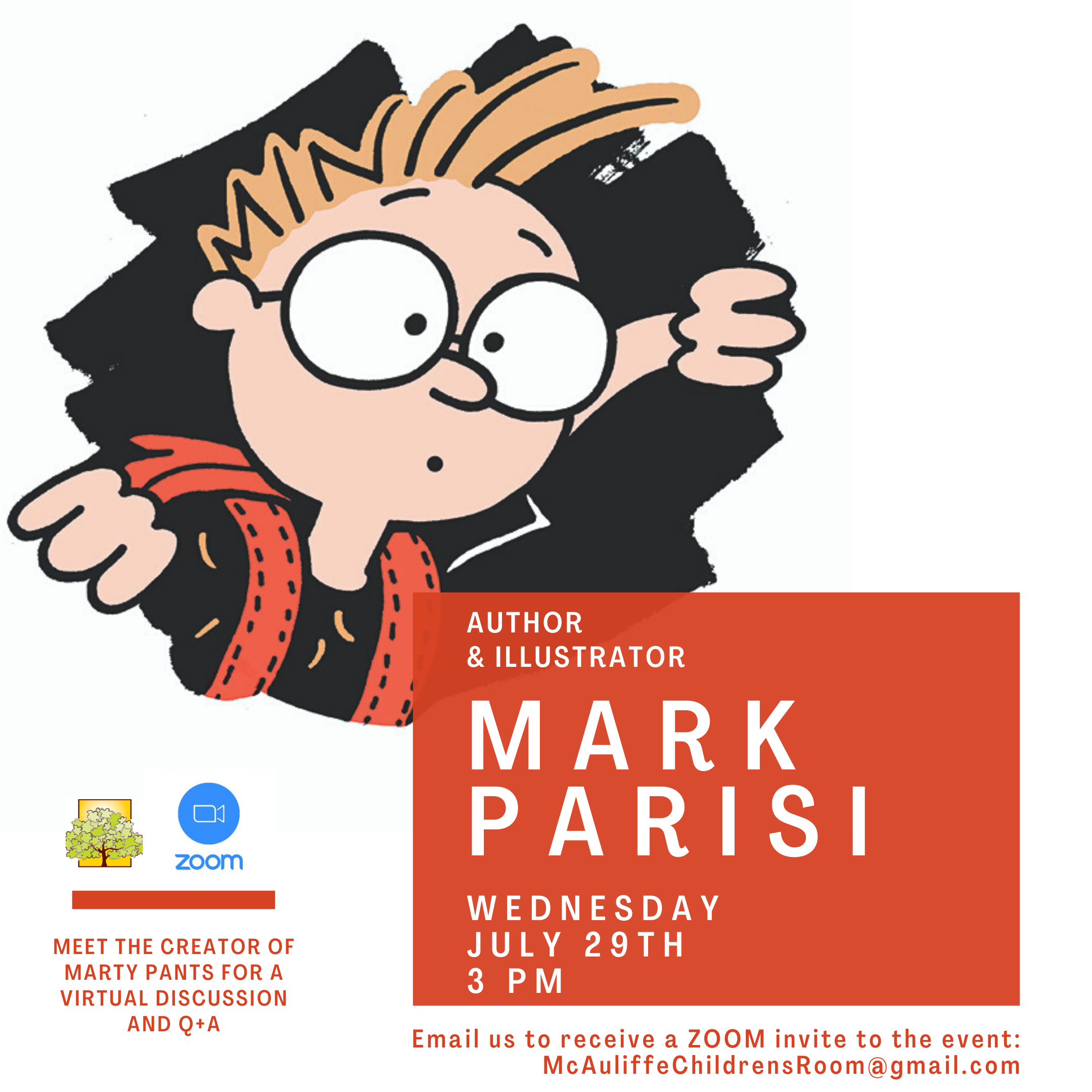 Virtual Drawing Workshop with Author Mark Parisi thumbnail Photo