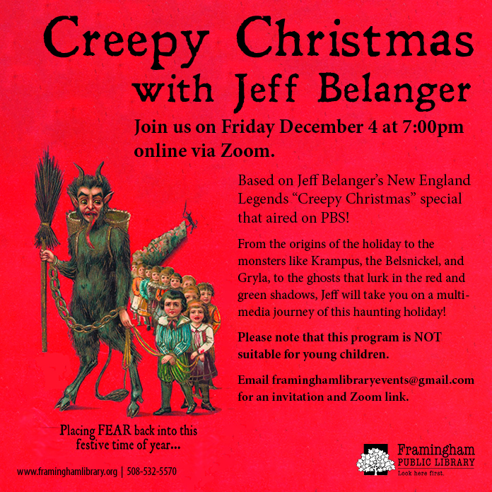 Creepy Christmas with Jeff Belanger thumbnail Photo