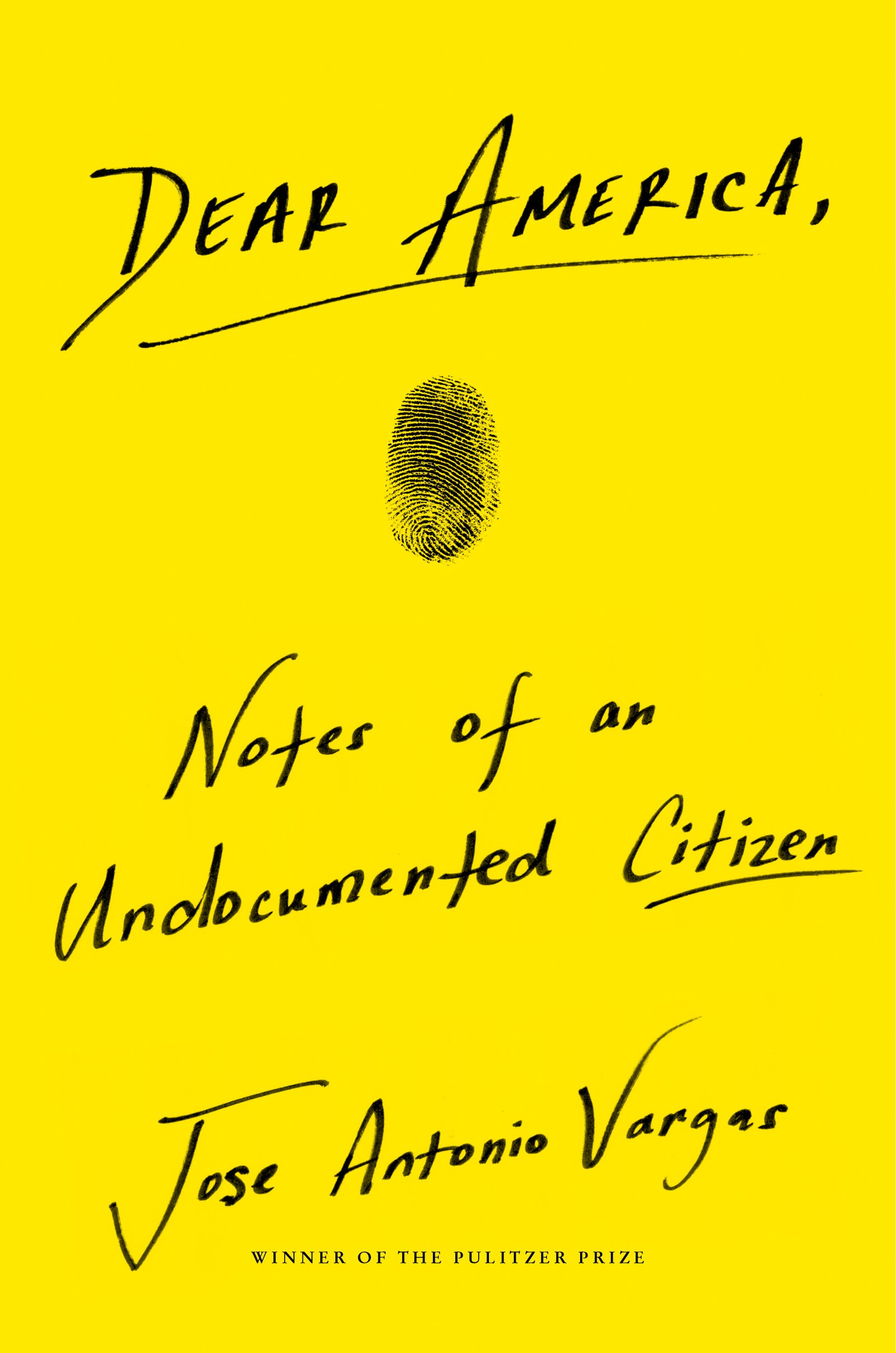 Virtual Book Discussion: Dear America: Notes of an Undocumented Citizen by Jose Antonio Vargas thumbnail Photo