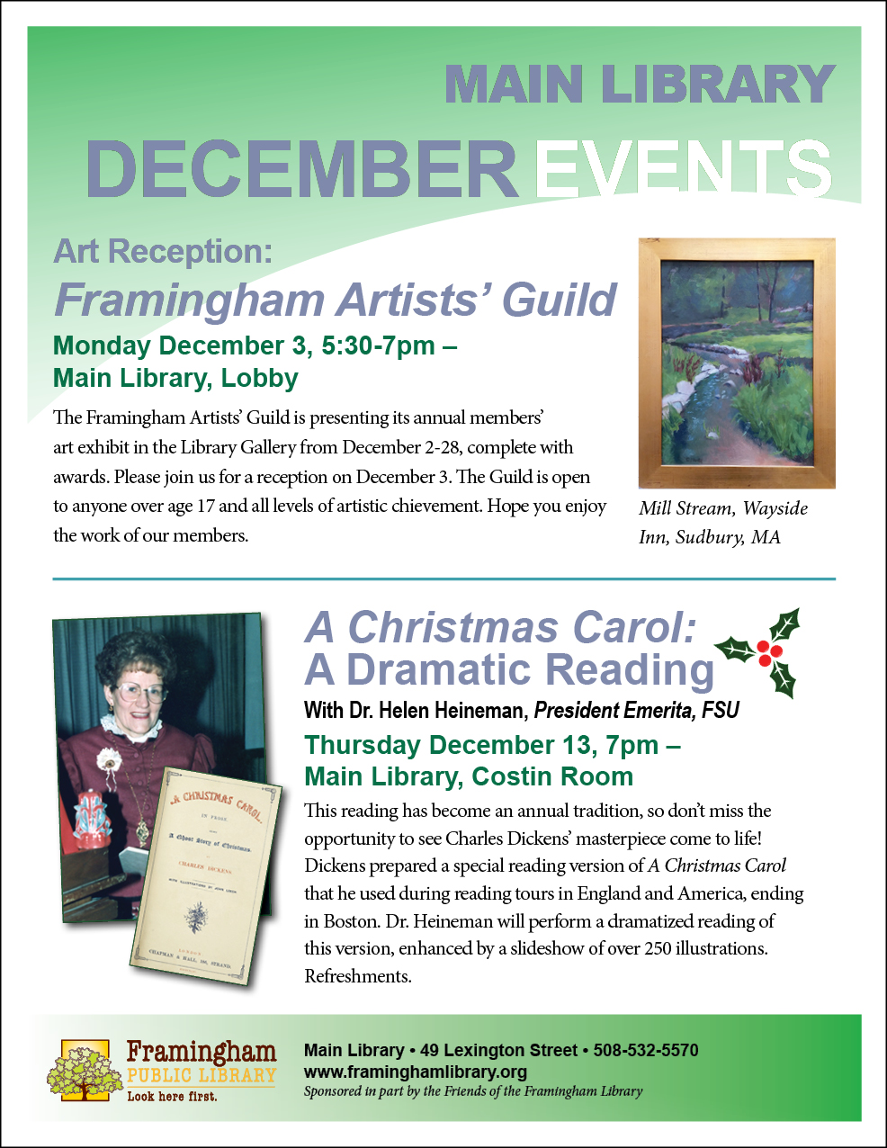 Art Reception: Framingham Artists' Guild thumbnail Photo